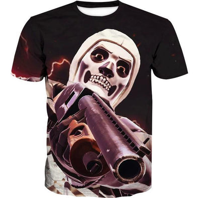Fortnite Battle Royale Skull Trooper T-Shirt - Fortnite Shirts - Hoodie Now