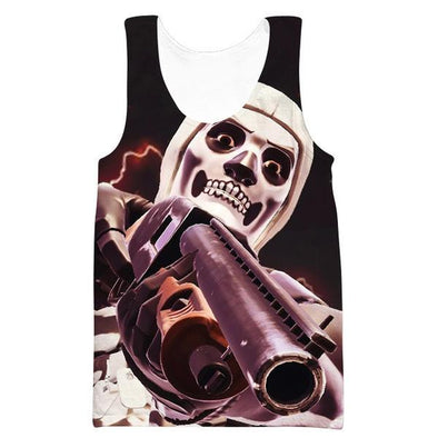 Fortnite Battle Royale Skull Trooper Tank Top - Fortnite Shirts - Hoodie Now