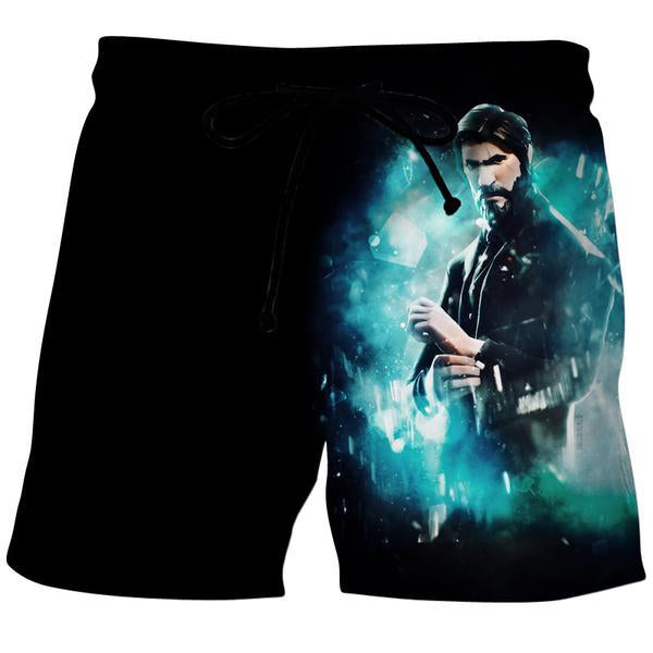 Fortnite Reaper Skin Board Shorts - Fortnite Clothes - Hoodie Now