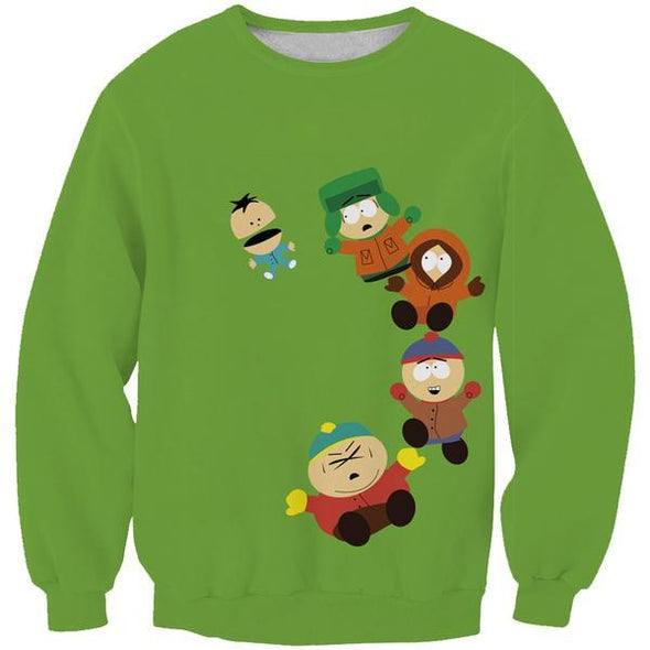 Funny South Park Sweaters - Cartman, Stan and Kyle Sweatshirt - Hoodie Now