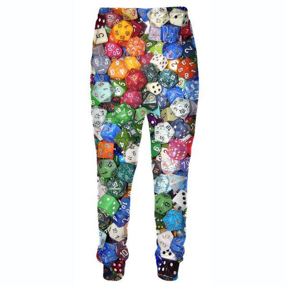 Gaming Dice Pants - Table Top Dice Clothes - Hoodie Now