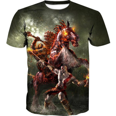 God of War Boss Battle T-Shirt - God of War Apparel - Hoodie Now
