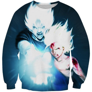 Goku and Gohan Kamehameha Sweatshirt - Dragon Ball Z Apparel - Hoodie Now