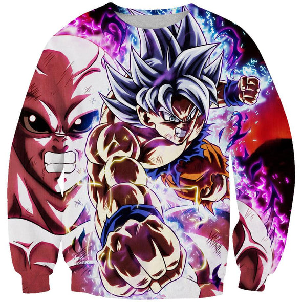 Goku and Jiren Dragon ball