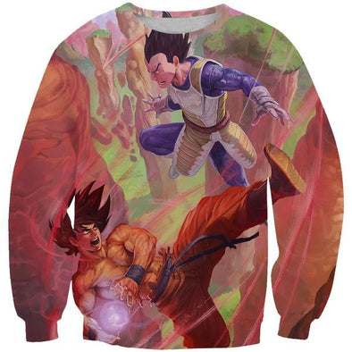 Goku vs Vegeta Sweatshirt - Dragon Ball Z Clothes - Hoodie Now