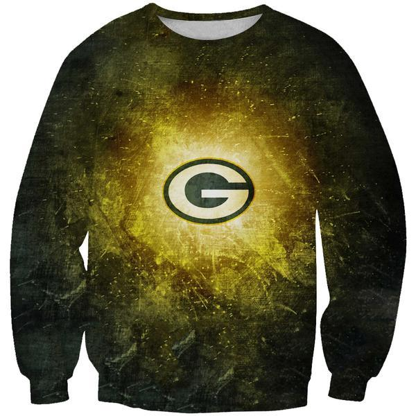 Green Bay Packers Sweatshirt - Epic Football Packers Clothes - Hoodie Now