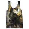 Green Dragon Tank Top - Fantasy Clothing - Hoodie Now
