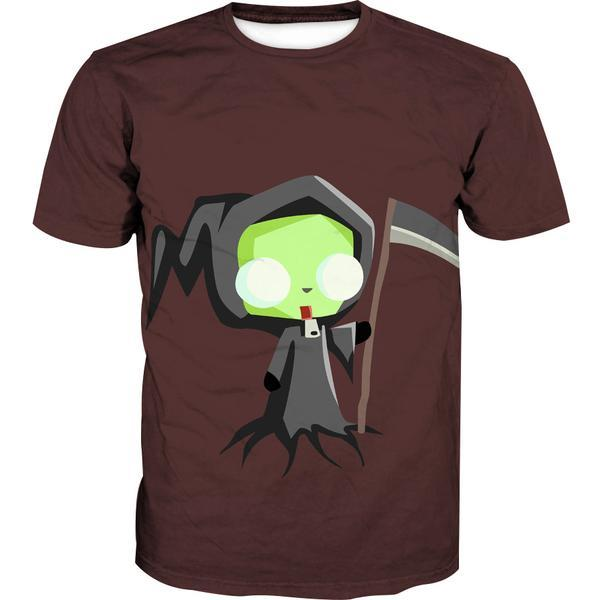 Invader Zim Grim Reaper T-Shirt - Invader Zim Clothing - Hoodie Now