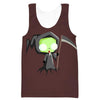 Invader Zim Grim Reaper Tank Top - Invader Zim Clothing - Hoodie Now