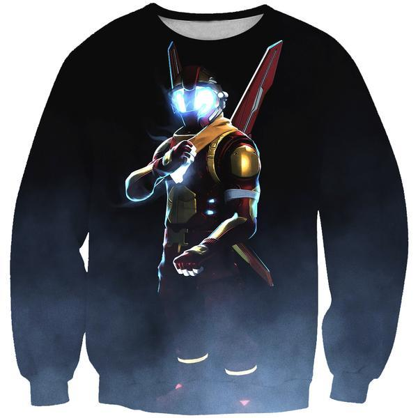 Iron man Fortnite Sweatshirt - Fortnite Gaming Clothes - Hoodie Now