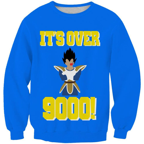 It's over 9000 Clothing