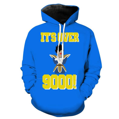 It's over 9000 Hoodie