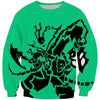 League of Legends Sweatshirt - Green Thresh Sweaters - Hoodie Now