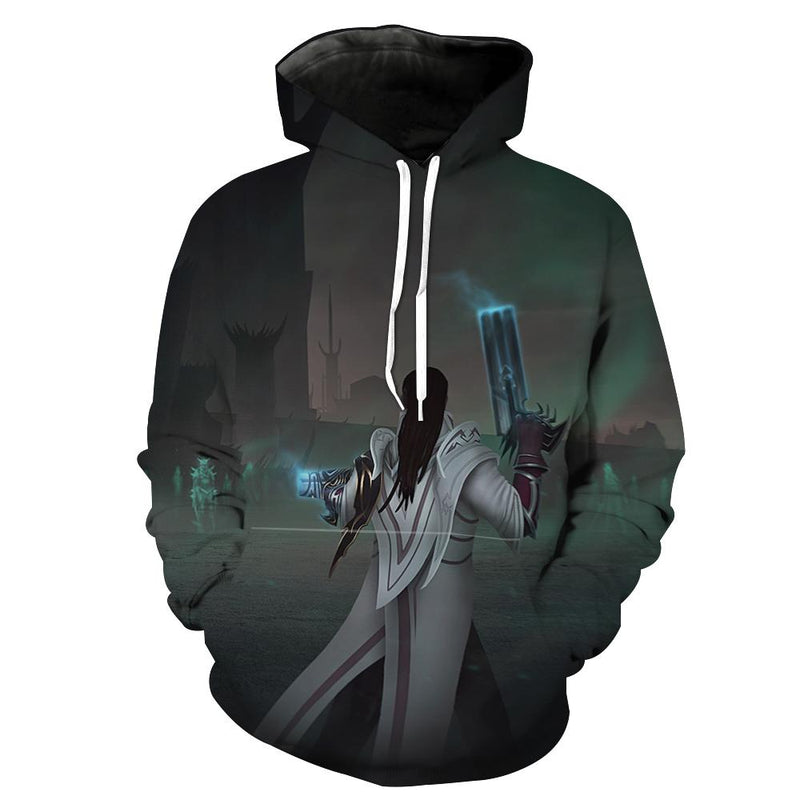 Lucian League of Legends Hoodie - Lucian Clothes - Hoodie Now