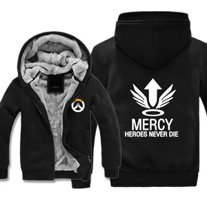 Mercy Jacket - Overwatch Jackets Fleece - Hoodie Now