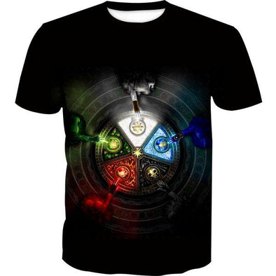Magic the Gathering T-Shirt - Five Mana Color Shirts - Hoodie Now
