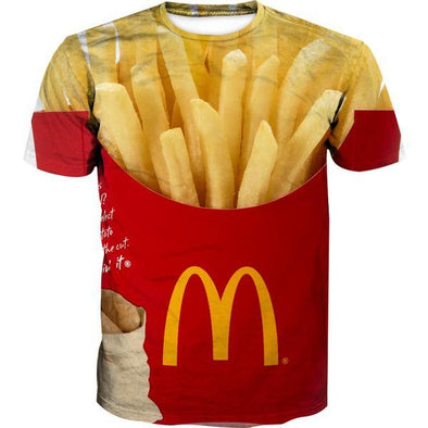 McDonalds French Fries T-Shirt - Funny Clothes - Hoodie Now