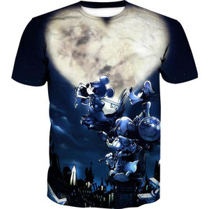 Mickey Goofy and Donald Kingdom Hearts T-Shirt - Kingdom Hearts Clothes - Hoodie Now