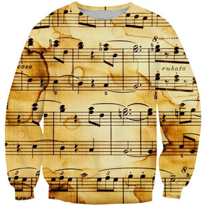 Music Sheet Clothing