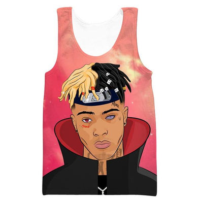 Naruto XXXTentacion Tank Top - XXXTentacion Anime Clothes - Hoodie Now