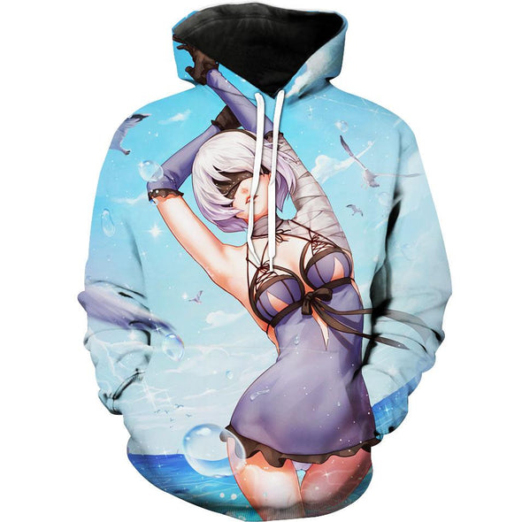 Nier Hoodie - Anime and Gaming Nier Clothing - Hoodie Now