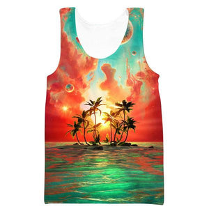 Paradise Island Tank Top - Utopia Epic Clothes - Hoodie Now