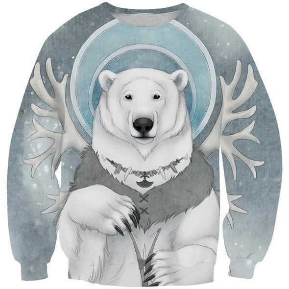 Polar Bear Sweatshirt - Arctic Polar Bear Clothes - Hoodie Now