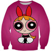 Powerpuff Girls Blossom Sweatshirt - Powerpuff Girls Clothing - Hoodie Now