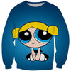 Powerpuff Girls Bubbles Sweatshirt - Powerpuff Girls Clothing - Hoodie Now