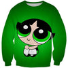Powerpuff Girls Buttercup Sweatshirt - Powerpuff Girls Clothing - Hoodie Now