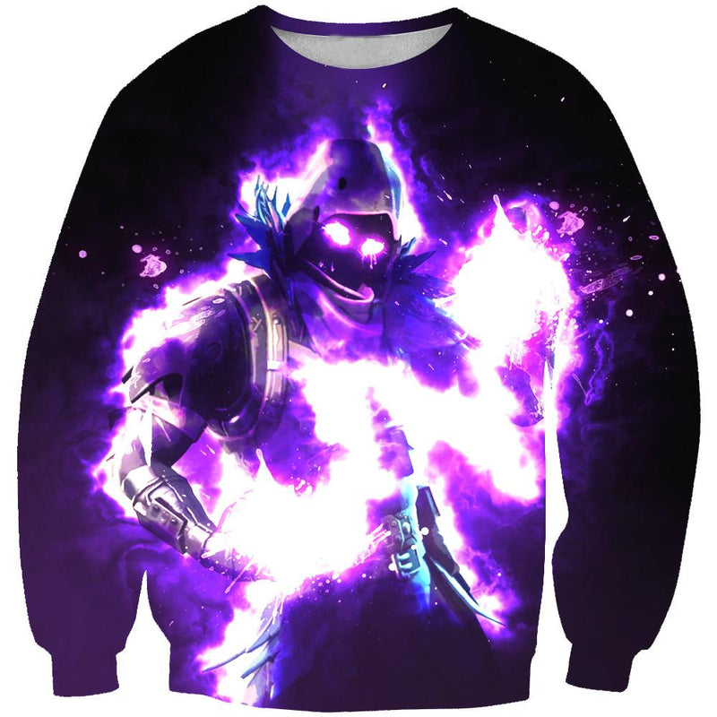 Fortnite Sweaters - Epic Raven Sweatshirt - Fortnite Clothes - Hoodie Now
