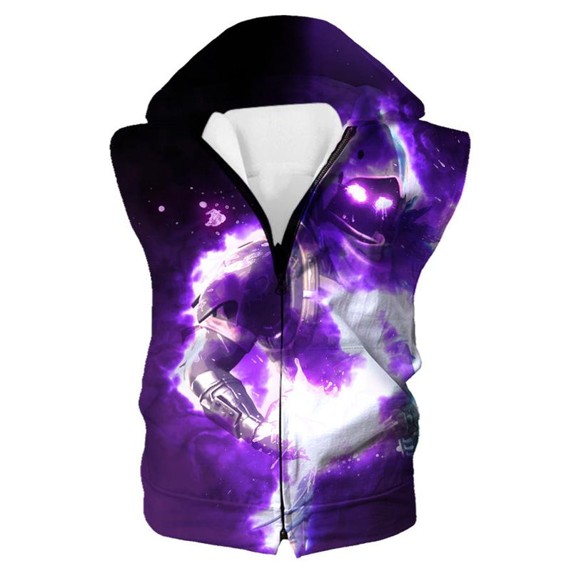 Fortnite Hoodie - Epic Raven Hooded Tank - Fortnite Clothes - Hoodie Now