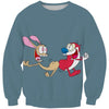 Ren and Stimpy Sweatshirt - Ren and Stimpy Clothing - Hoodie Now