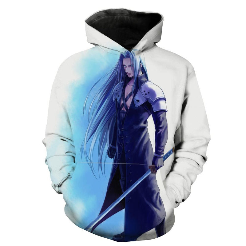Sephiroth Hoodie - Final Fantasy Clothes - Gaming Clothing - Hoodie Now