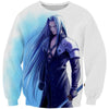 Sephiroth Sweatshirt - Final Fantasy Clothes - Gaming Clothing - Hoodie Now
