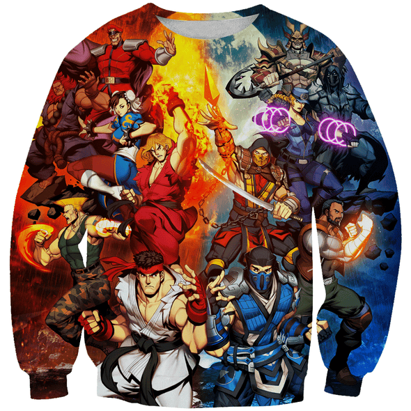 Street Fighter Clothing