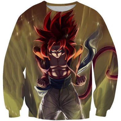Super Saiayn 4 Gogeta Sweatshirt - Dragon Ball GT Clothes - Hoodie Now