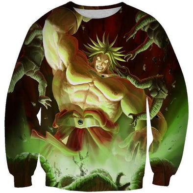 Super Saiyan Broly Sweatshirt - Dragon Ball Movie Clothes - Hoodie Now