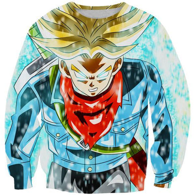 Super Saiyan Rage Trunks Sweatshirt - Dragon Ball Super Clothes - Hoodie Now