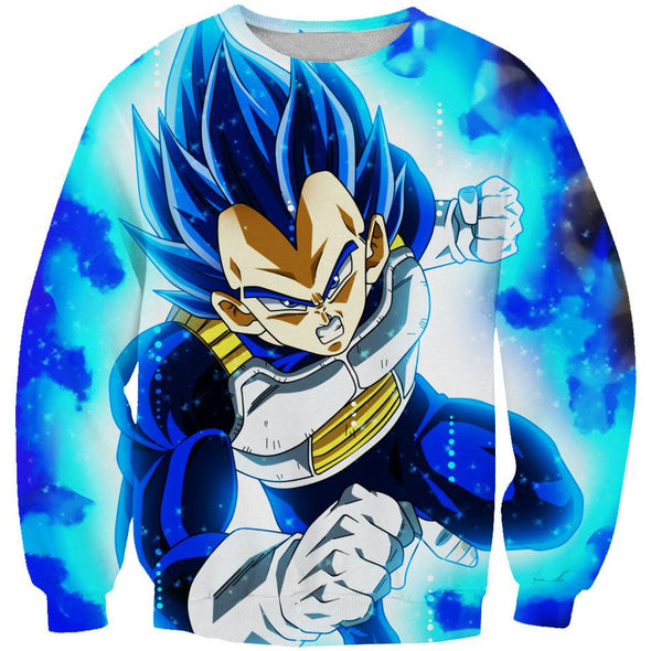 SSB Vegeta Hoodie - Dragon Ball Super Hoodies - Hoodie Now