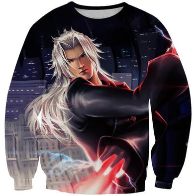 Sword Xemnas Sweatshirt - Kingdom Hearts 2 Clothing - Hoodie Now