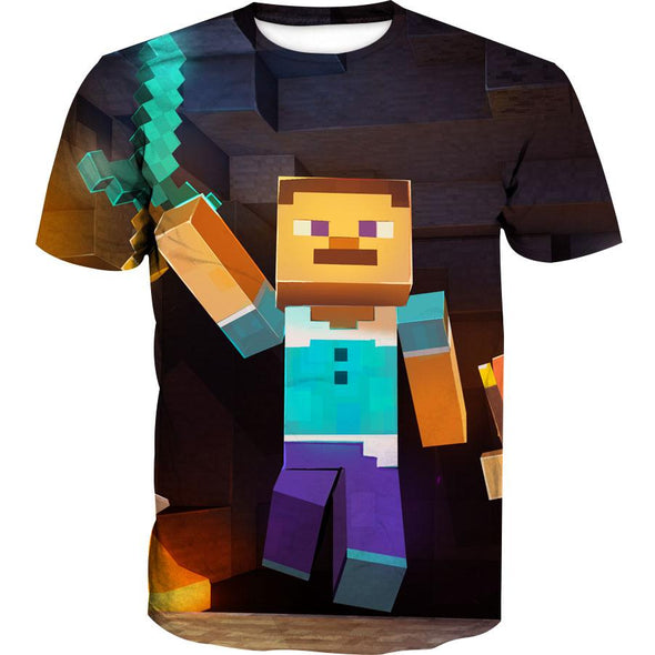 Minecraft Character Hoodie - Minecraft Clothes - Hoodie Now