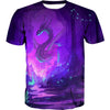 Purple Dragon T-Shirt - Fantasy Hoodies and Clothing - Hoodie Now