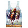 Thoroughbred Horse Tank Top - Triple Crown Clothing - Hoodie Now