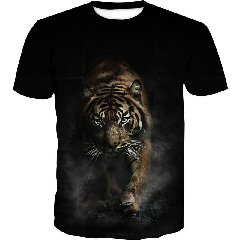 Crouching Tiger T-Shirt - Tiger Clothing - Hoodie Now