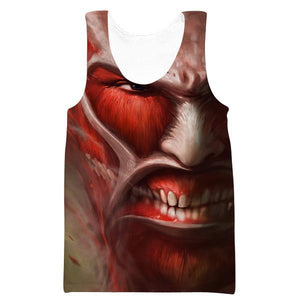 Titan Tank Top - Attack on Titan Clothing - Hoodie Now