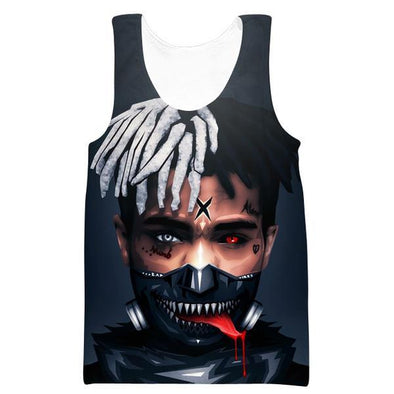 Tokyo Ghoul XXXTentacion Tank Top - Tokyo Ghoul Clothes - Hoodie Now