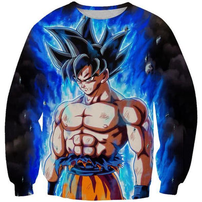 Ultra Instinct Goku Dragon Ball Super Sweatshirt - DBZ Clothes - Hoodie Now