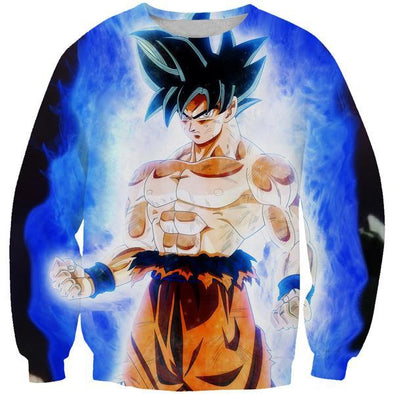 Ultra Instinct Goku Sweatshirt - Dragon Ball Super Sweater - Hoodie Now