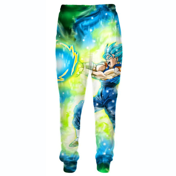 Blue Vegetto Pants